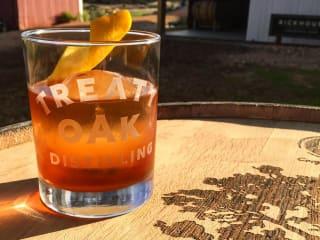 Treaty Oak Brewing & Distilling Company Ranch whiskey cocktail drink