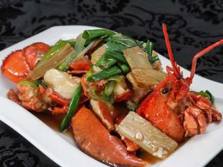 Ginger & Fork lobster
