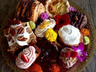 Bribery Bakery pastries treats basket 2015