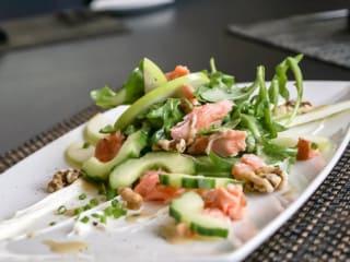 Waters salmon salad