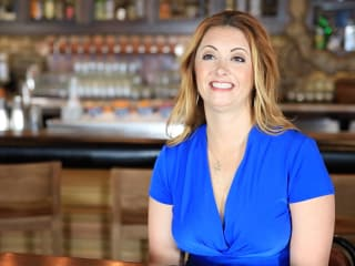 Beverage director Bonnie Wilson