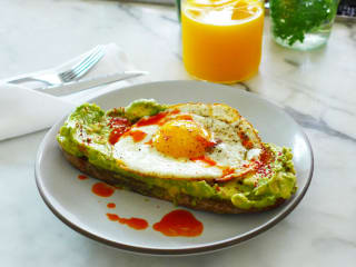 Avocado toast Josephine House breakfast