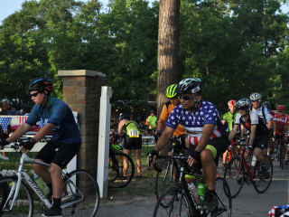 "The Woodlands Cycling Club and the Lake Conroe Rotary Club present 14th Annual ""Burn Your Buns"" Bike Ride"