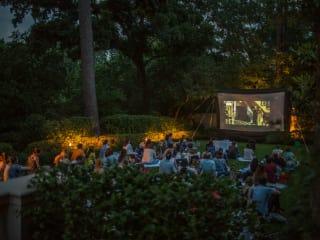 The Museum of Fine Arts, Houston outdoor film screening