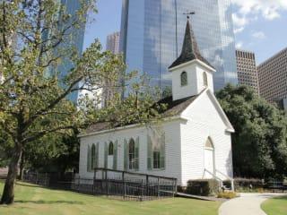 St. John Church at Sam Houston Park