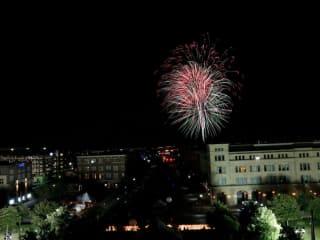 Frisco Freedom Fest fireworks