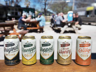 Austin Eastciders cans