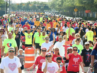 American Heart Association presents 2017 Houston Healthy for Good Heart Walk
