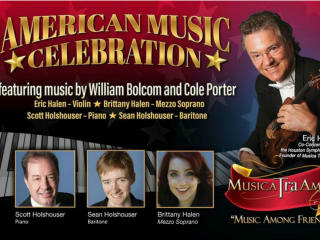 Musica Tra Amici presents American Music Celebration
