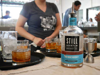 Still Austin Whiskey Product  SHot