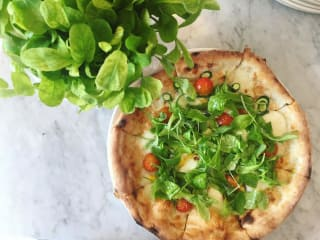 Stella Public House veggie pizza