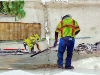 "Raul Gonzalez | ""Doing Work"" opening reception"