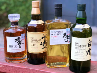Japanese Whiskey Flight