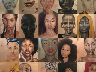 """Aesha Lee: """"The Beauty of the Black Woman"""" opening reception"""