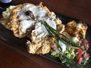 Chicken fried steak at Horseshoe Hill Cafe
