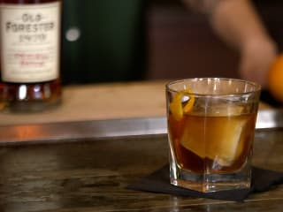 Holiday Spiced Old Fashioned