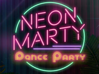 Neon MARTY Dance Party
