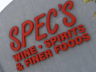 Places-Shopping-Spec's exterior sign close-up