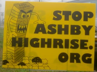 News_Stop Ashby High Rise_sign