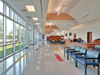News_Harris County Hospital District_Martin Luther King Health Center_waiting area