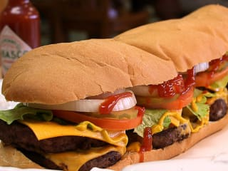 News_Carl's_footlong_cheeseburger