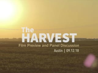 The Harvest: Film Preview and Panel Discussion