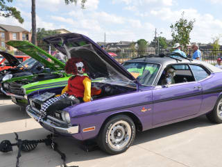 The National Museum Of Funeral History Presents Halloween Car Show - Car show houston