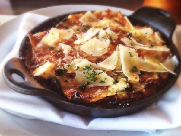 Due Forni Pizza & Wine lasagna