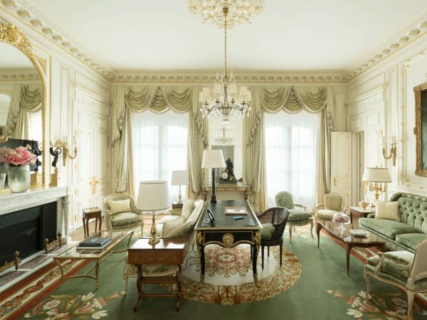 Ritz Paris, June 2016, Suite Vendome