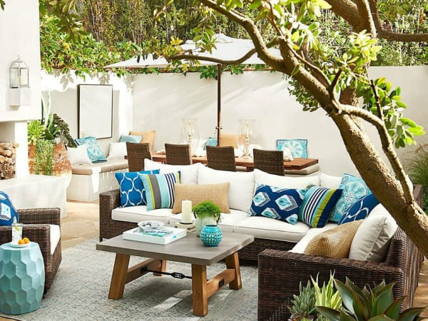 Zillow Hottest Patio Trend 2016, Concrete table