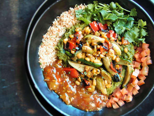 Peli Peli restaurant vegetable curry