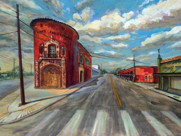 Fredericksburg Road by Alexandra Nelipa