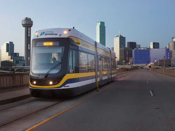 Dallas streetcar, Bishop Arts, trolley