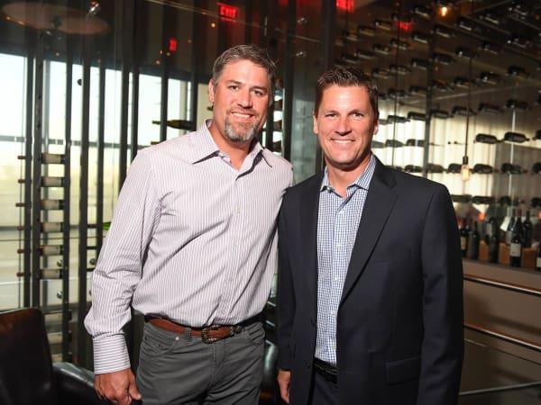 SpringSpirit Baseball, Aug. 2016, Lance Berkman, Randy McIlvoy