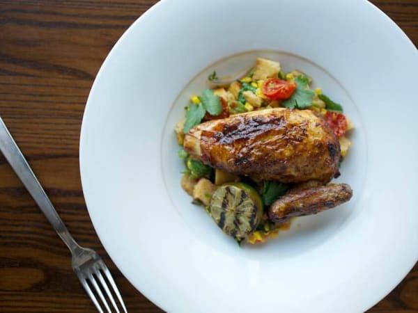 Second Bar and Kitchen dish Austin restaurant