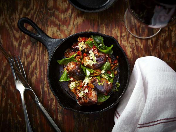 Hudson's on the Bend Austin resaurant new menu Diablos on Horseback