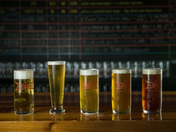 The ABGB beer lineup