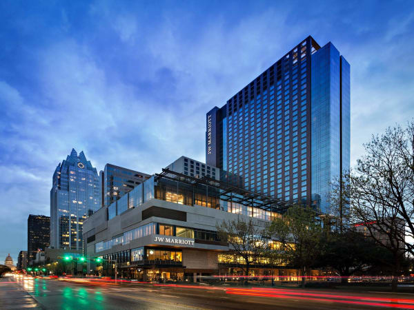 JW Marriott Austin hotel Congress Avenue 2015