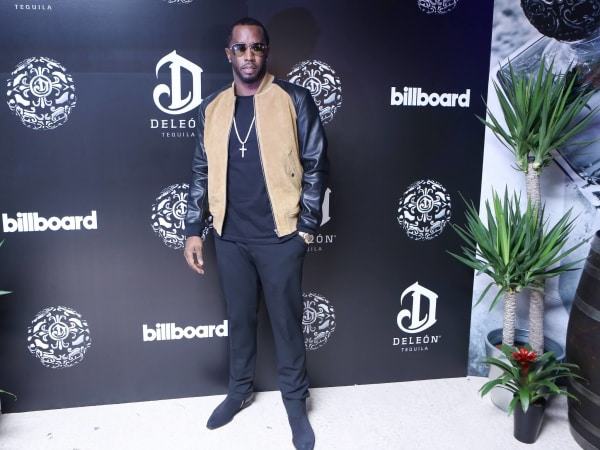 Sean Diddy Combs at DeLeon Tequila party at Club Cle