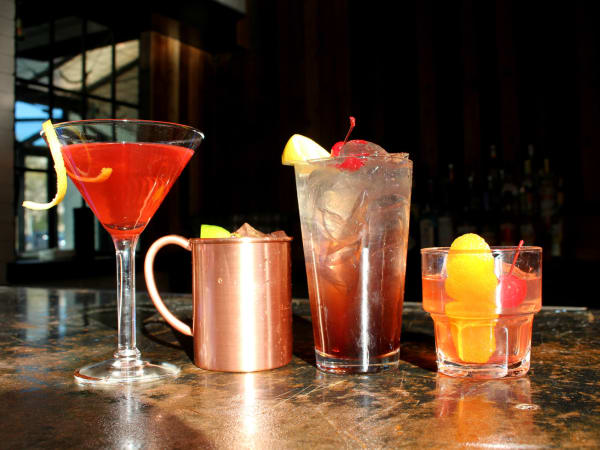 Parlor & Yard bar Dunlap ATX west sixth February 2016 bar drinks cocktails