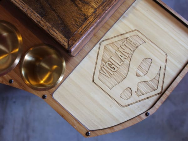Vigilante Gaming Bar table