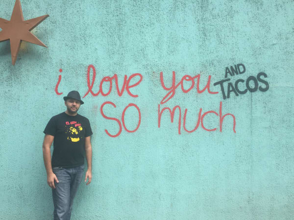 El Big Bad Steve Sharma taco wall
