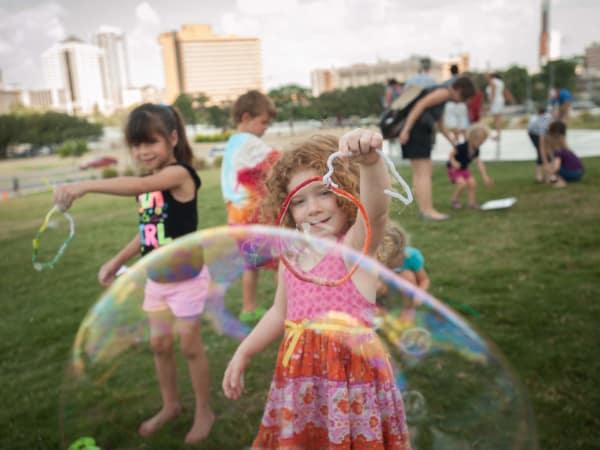 Bubblepalooza Austin 2013