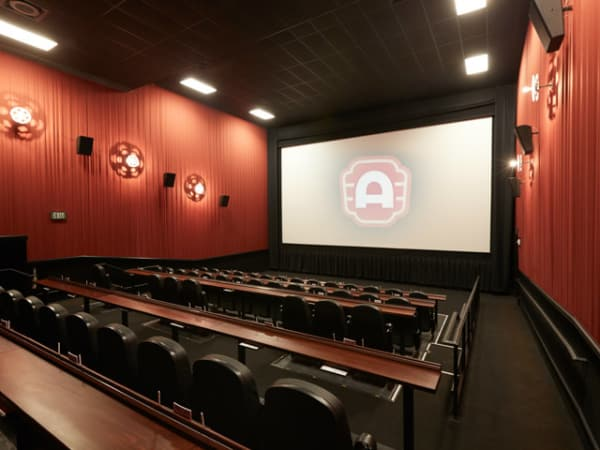 interior theater at Alamo Drafthouse south lamar