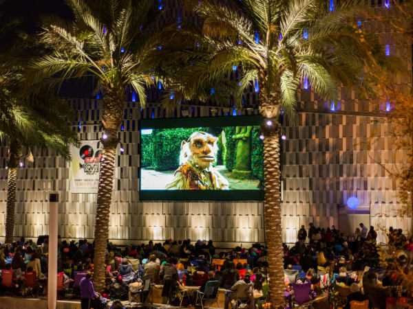 The Tobin Center of Performing Arts presents H-E-B Cinema on the Plaza