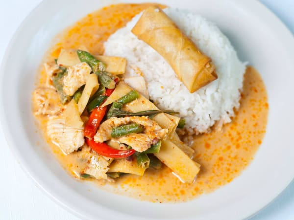 Thai Topaz red curry