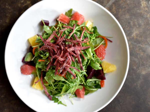 Dish Society citrus beet salad