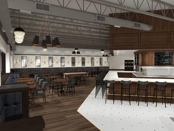Relish Restaurant River Oaks interior