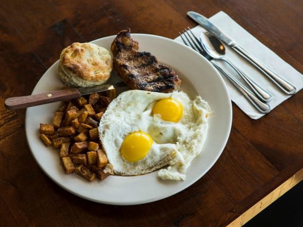 Counter Cafe East Austin restaurants steak and eggs breakfast