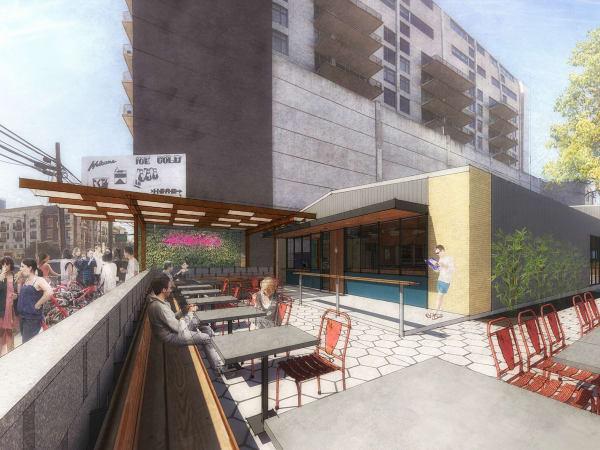 Irene's restaurant downtown Austin ELM Restaurant Group rendering